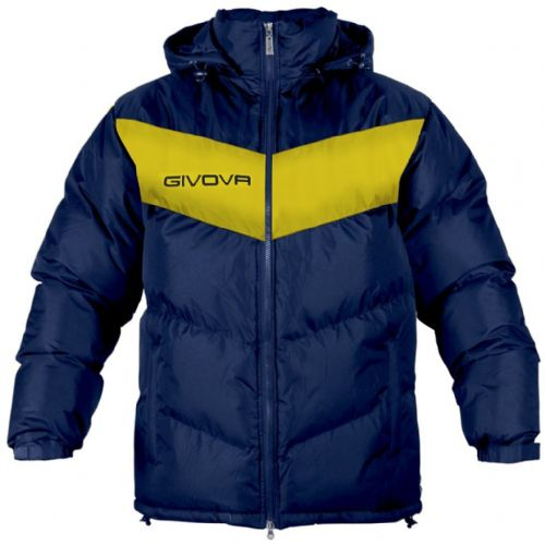 GIUBBOTTO PODIO navy & yellow